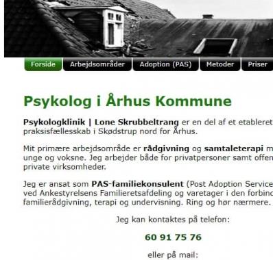 psykolog skødstrup A